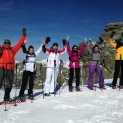 Snowshoe Hiking Madrid